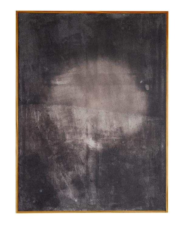 Heat sensitive pigment & acrylic on canvas, 2015