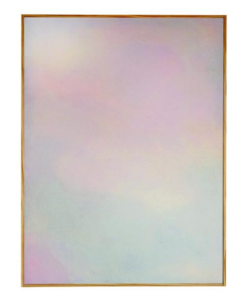 Heat sensitive pigment, light sensitive pigment & acrylic on canvas, 2015