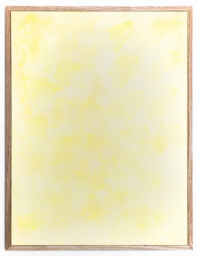 Heat and light sensitive pigment & acrylic on canvas, 2014