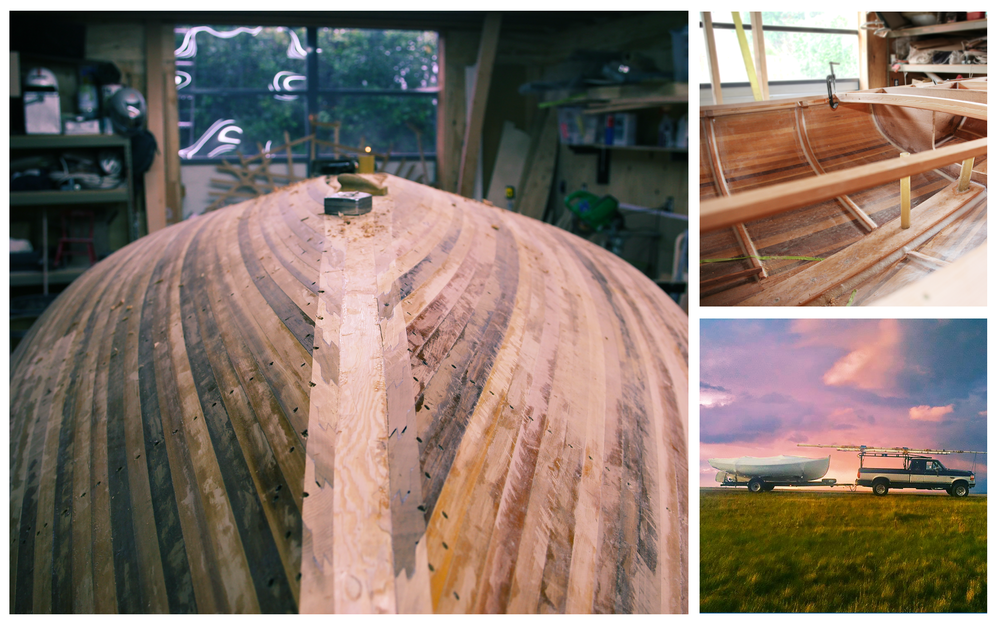 26' Cold molded seafaring vessel. Private commission, Chesapeake Bay, Maryland