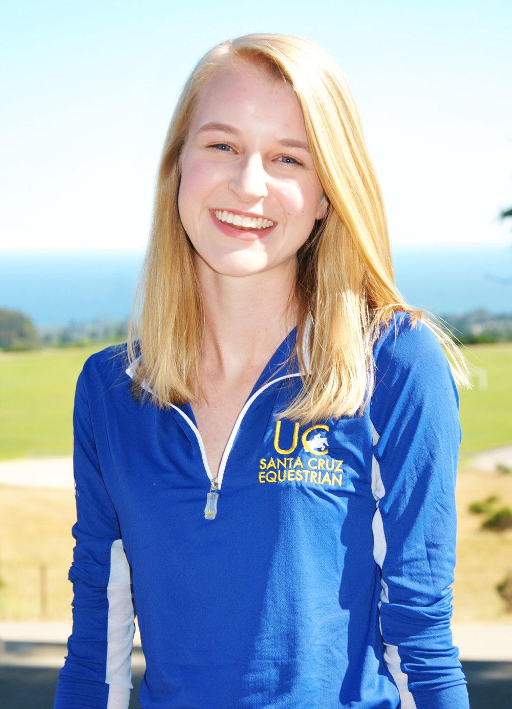 Claire JensenPresident - Beginner Walk/Trot/CanterBiology | Class of 2019San Mateo, CA