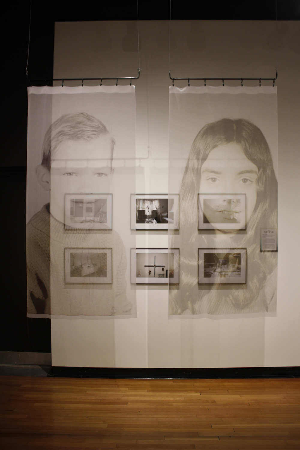 """Ever-Present"" exhibited at GVSU PAC Gallery, April 2015"