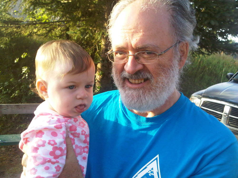 Ron Harry, with daughter Eva, future camper!