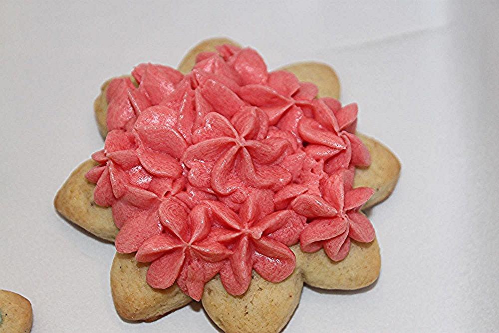 Beautiful Sugar Cookies - Soft & Chewy with Homemade Buttercream Frosting