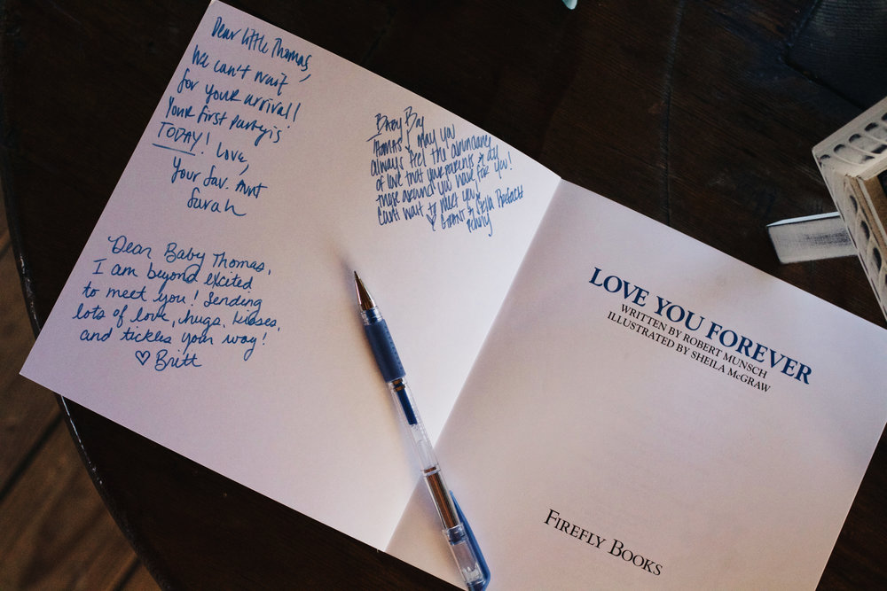the cutest guest book ever.
