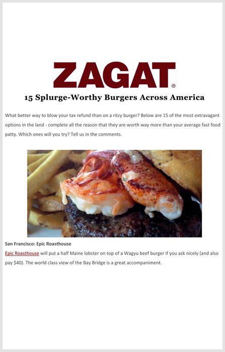 Zagat -   February 18 2014