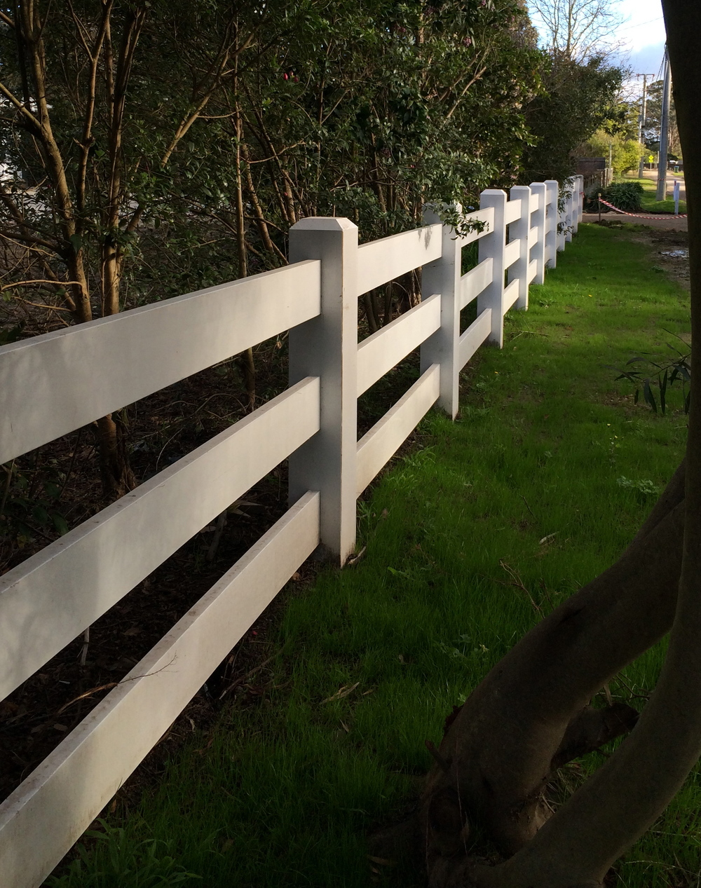 Post and rail fencing Melbourne jpeg