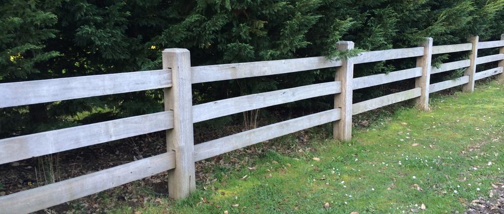 Post and rail fencing Mornington Peninsula