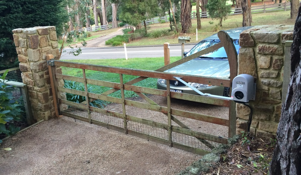 Existing Gate. Added Automation.