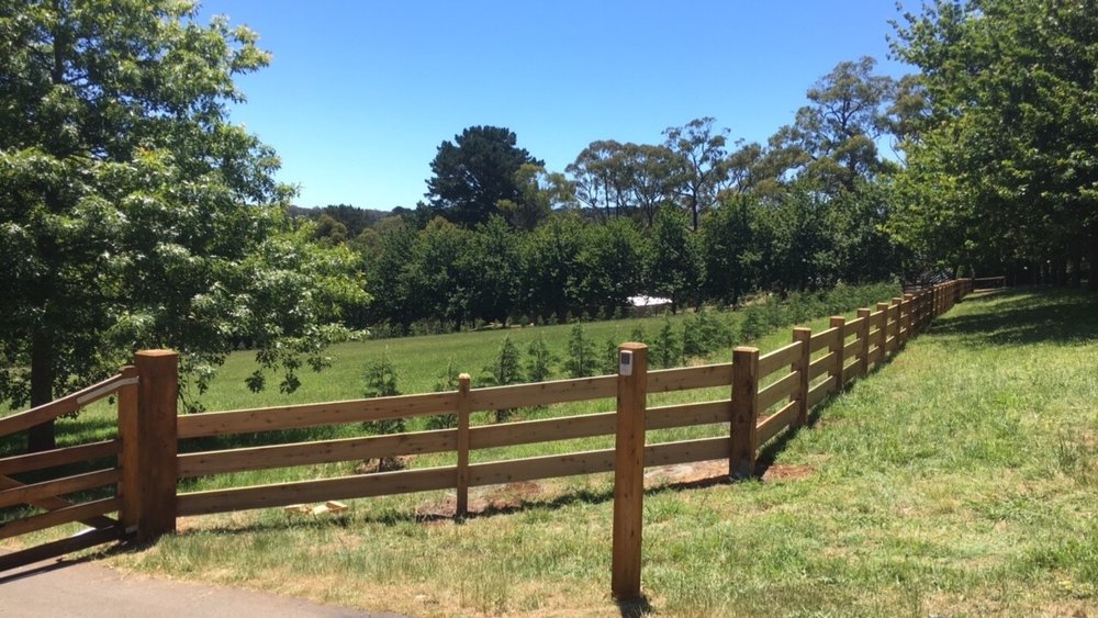 Post and rail fencing melbounre jpg