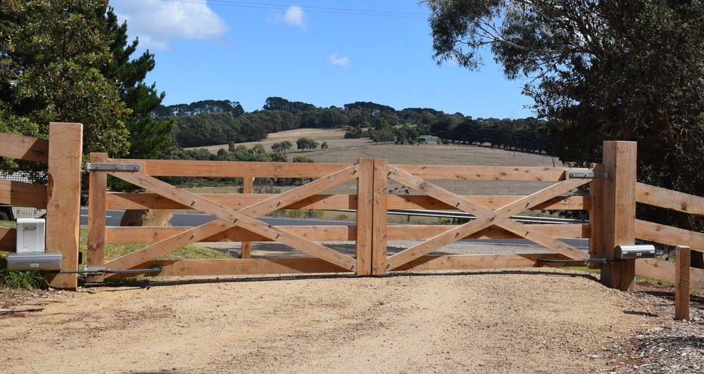 Peninsula Timber Gates faac motors.jpg