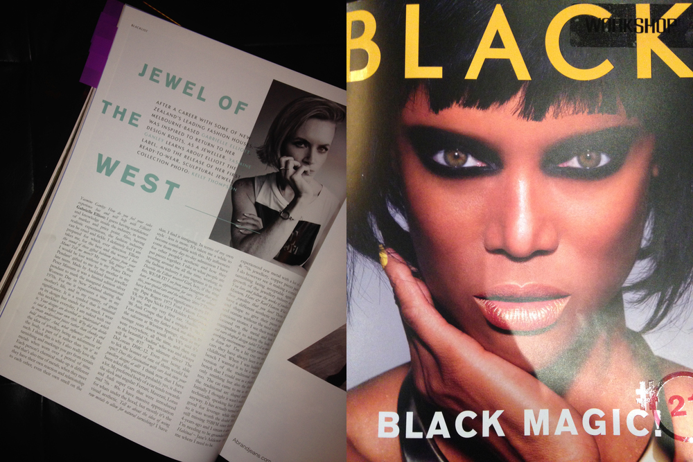 Black Magazine yerp...