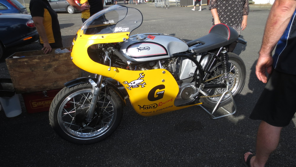 The UBER cool (and my favourite) Manx Norton