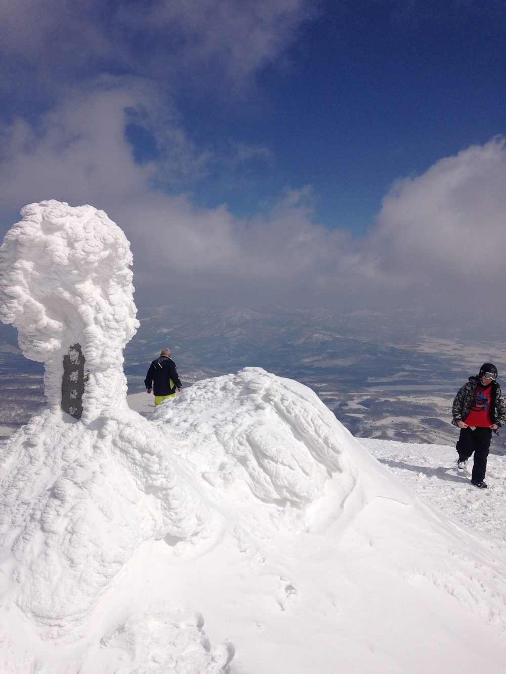Summit Mt Niseko- An-nupuri