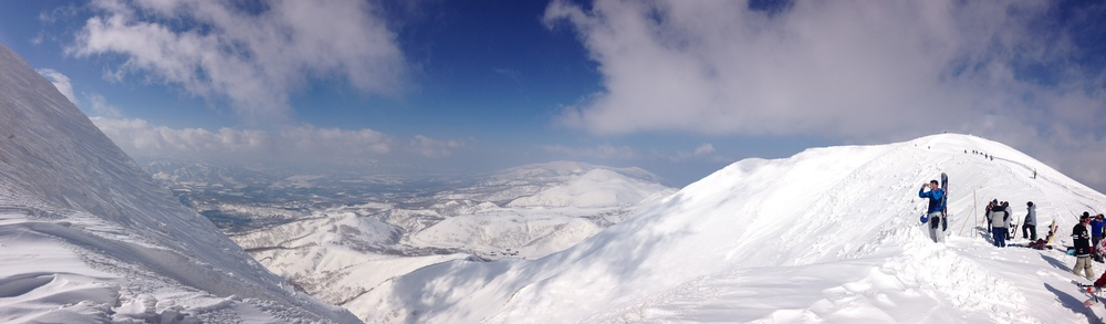 Summit Mt An'nupuri Niseko