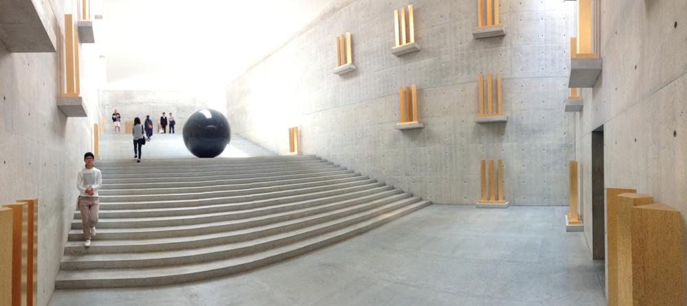 Chichu Art Museum.. and below