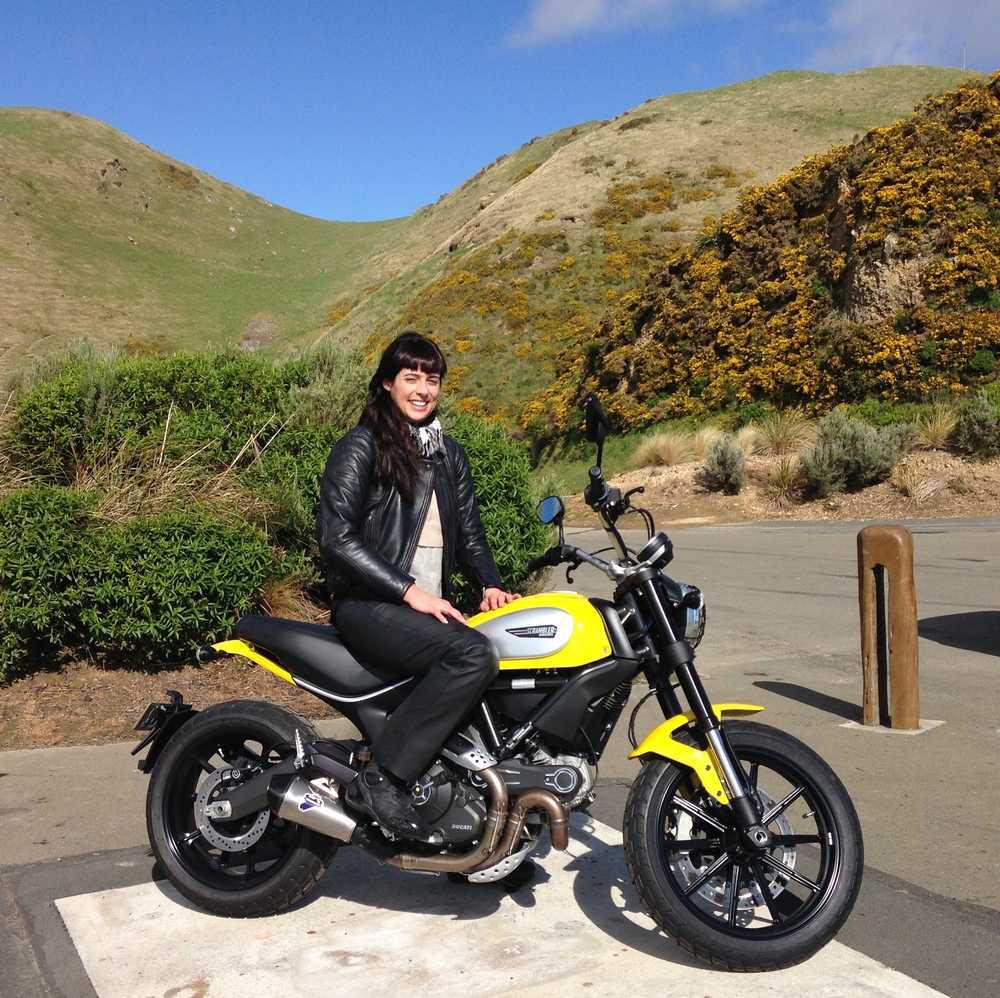 The Ducati Scrambler 800 And Deluxe Cafe Moena Moxham