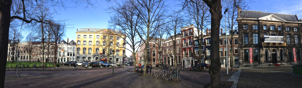 The Hague: Hotel Des Indes and the Escher Museum on the far right... more to come on this one!