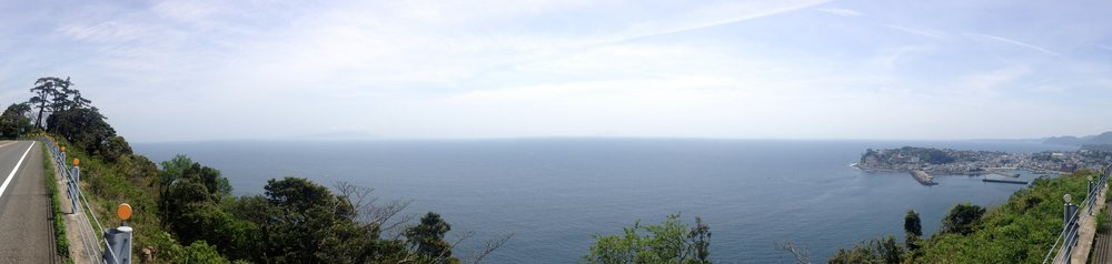 Looking back to Shimoda