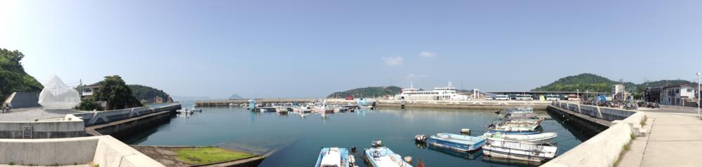 Miyanoura Wharf, Naoshima Island