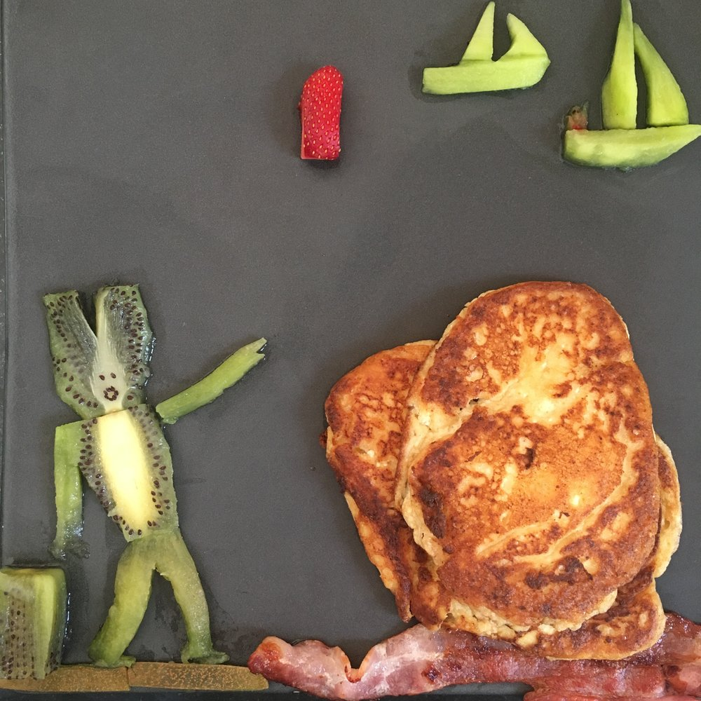 'Mork, The Alien With Exceptional Abilities, Watches His Buddy GhostY Compete In The Pancake Coast Regatta'