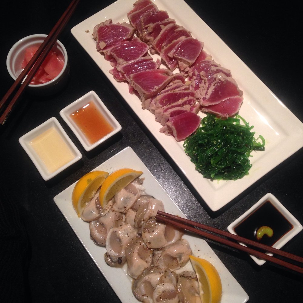 Seared Tuna | NZ Bluff Oysters