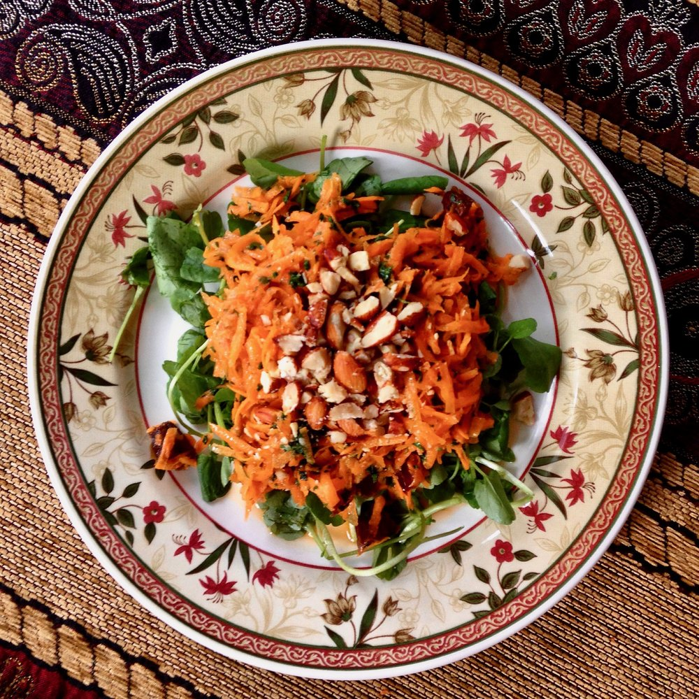 Moroccan Carrot & Date Salad