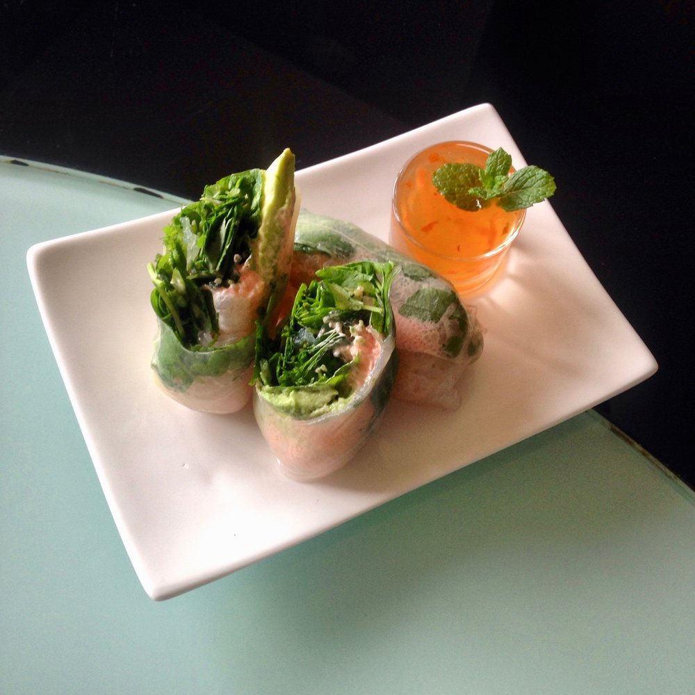 Prawn & Avocado Rice Paper Rolls
