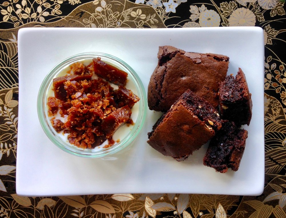 Toffee Brittle & Choc Brownie