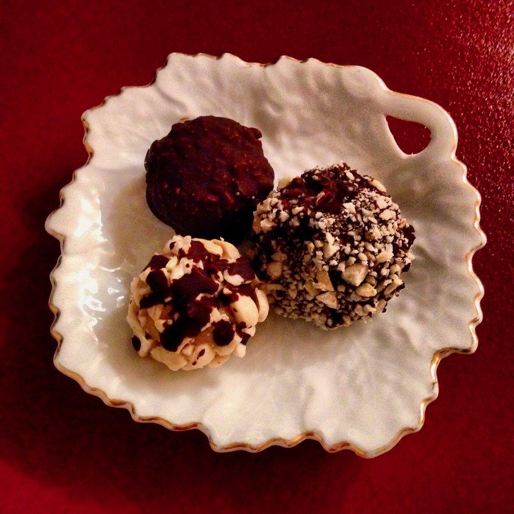 Homemade Choc Cashew Truffles