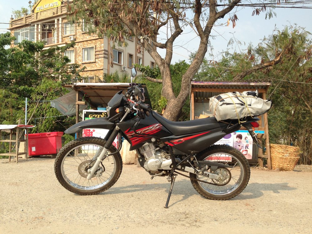 Road Trippin' Myanmar w/ the Yamaha