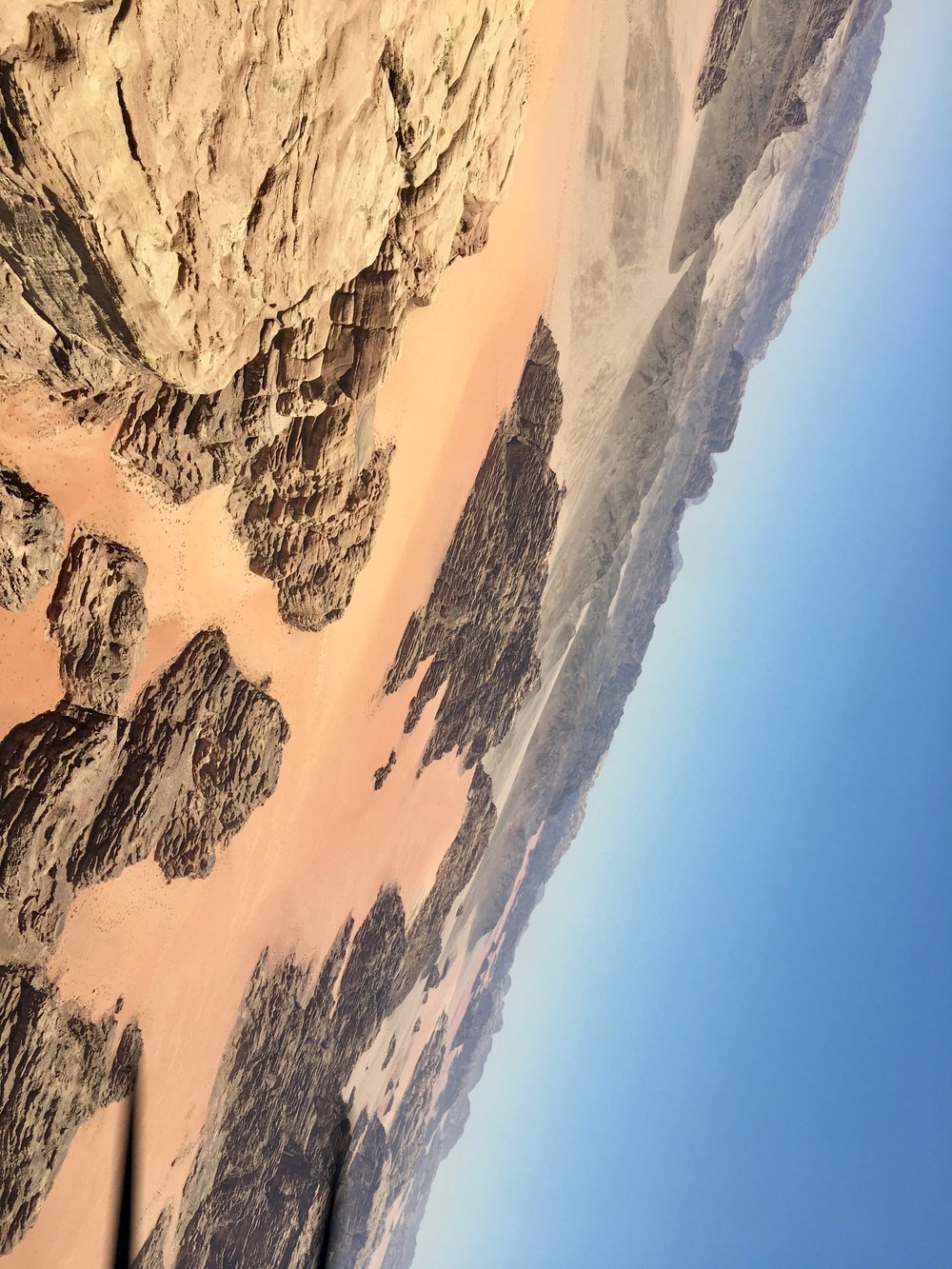 Wadi Rum inverted from the Xtra 300L