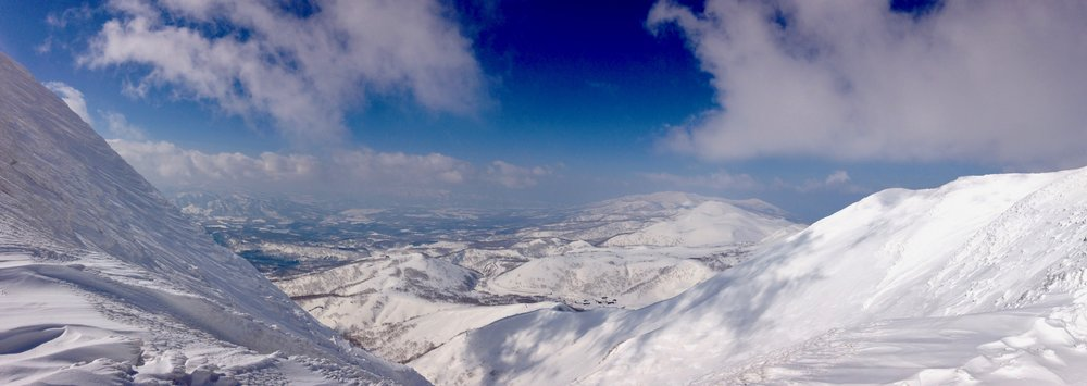 Summit of Mt Annapuri, Niseko, Japan