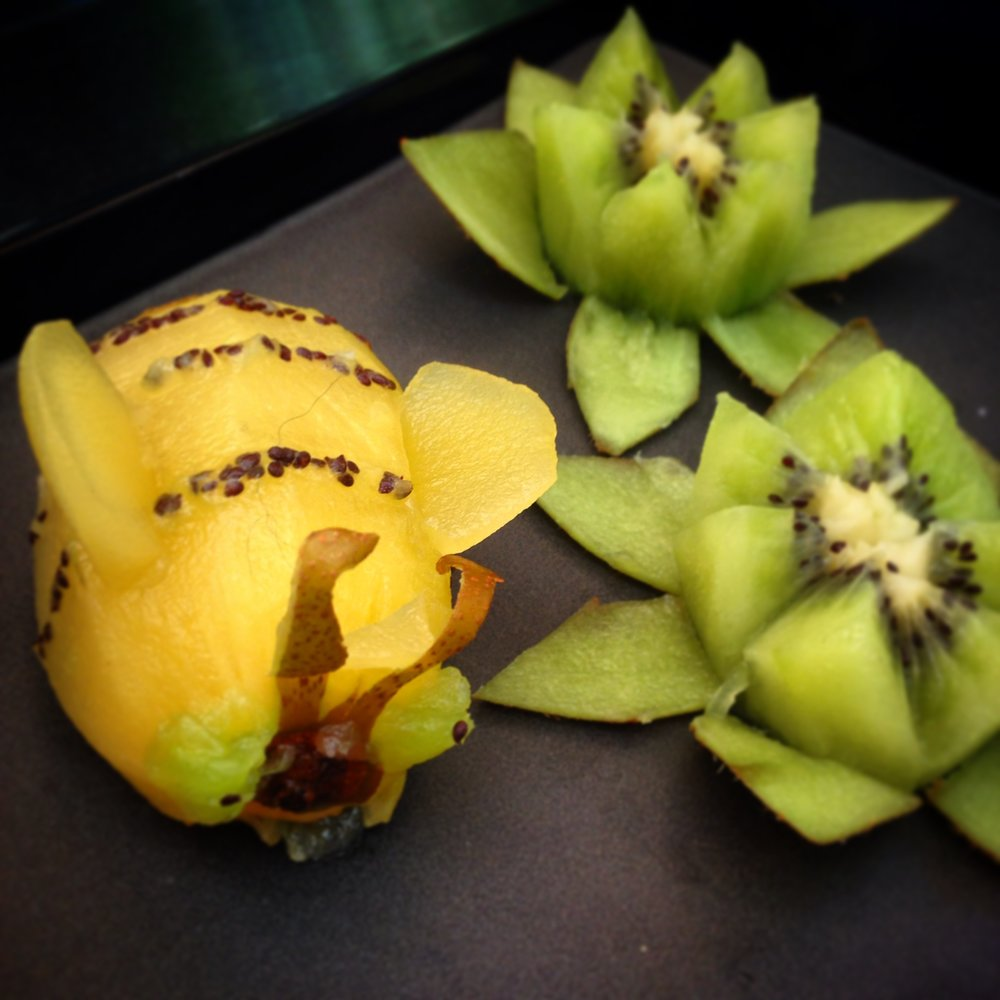 'Beeeez & Lotus Flowers'
