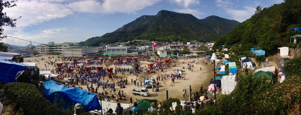 Autumn Festival, Shodoshima, Japan