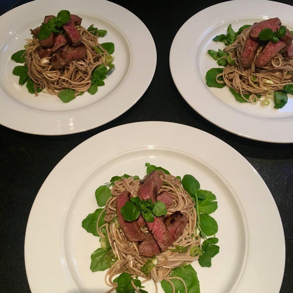 Beef & Lime Soba Noodles