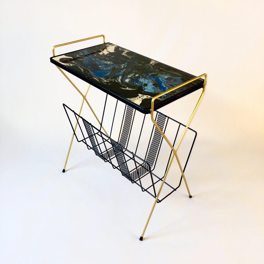 'Solar Magazine Stand'