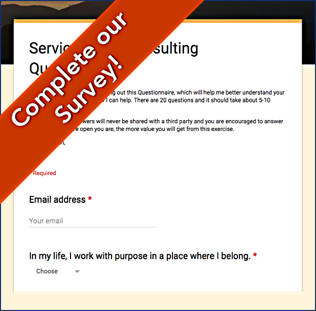 Click to Complete our questionnaire and get your coaching underway!