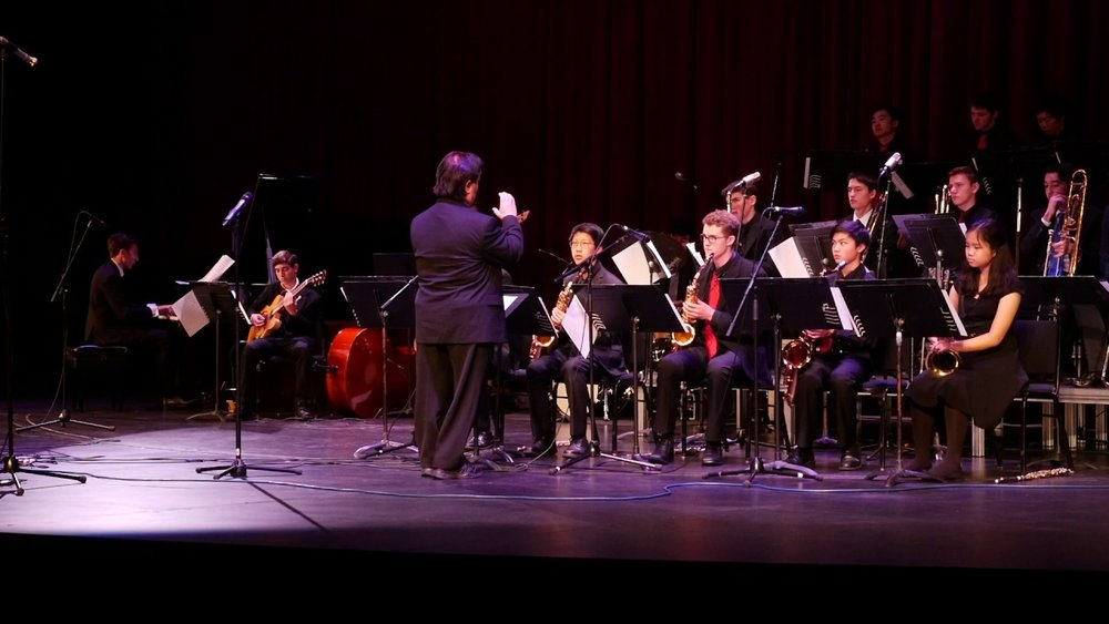 Miles Ahead HS Big Band 2016
