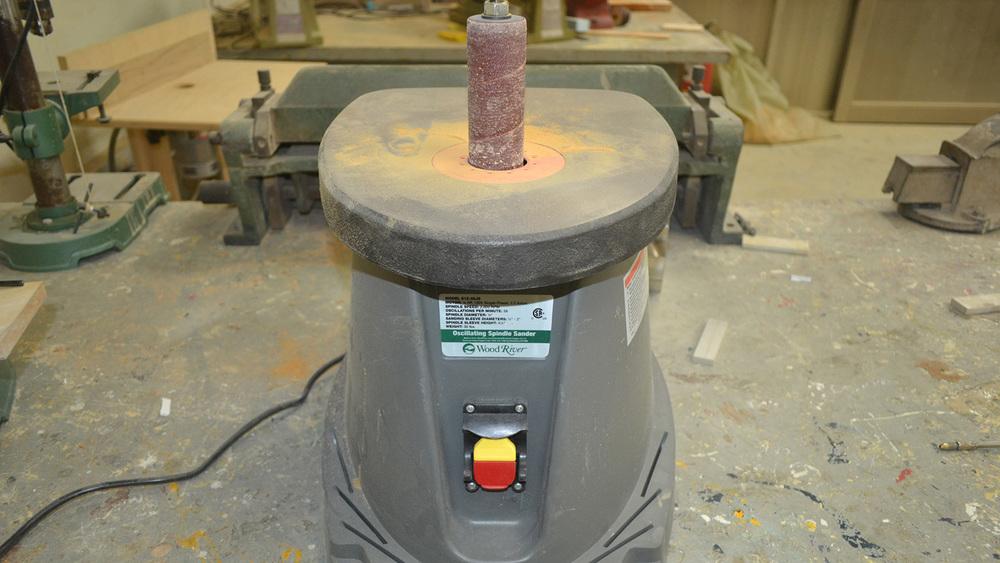 立軸砂光機
