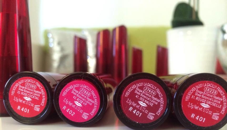 """Rose Coktail - Rose Vif - Iris Mauve - Rouge Groseille  Note: le pailleté est """"Iris Mauve"""""""