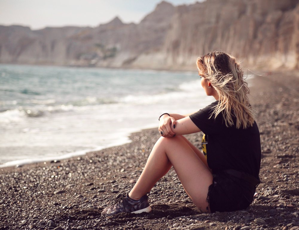 Les plages de sable noir