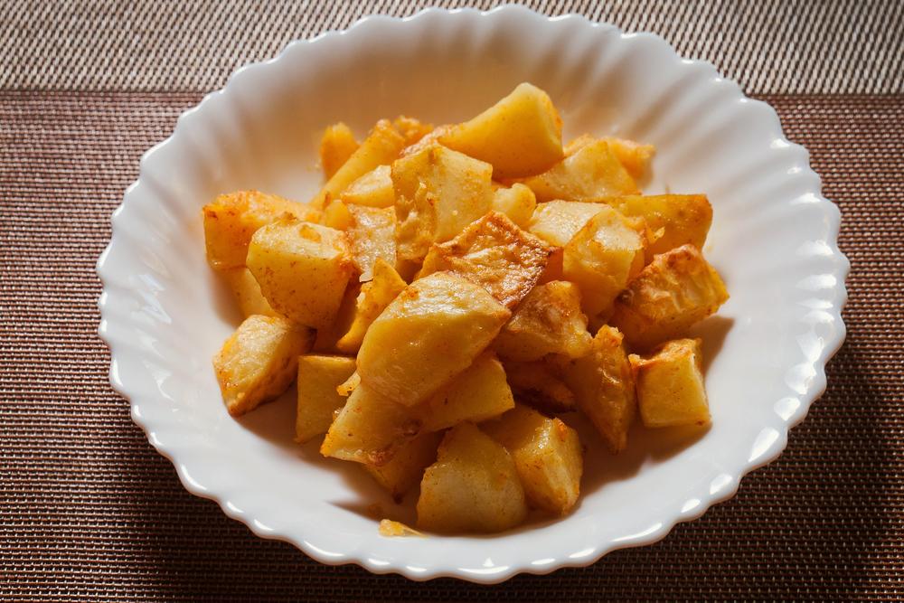АЛУ ДАМ   Запеченый картофель