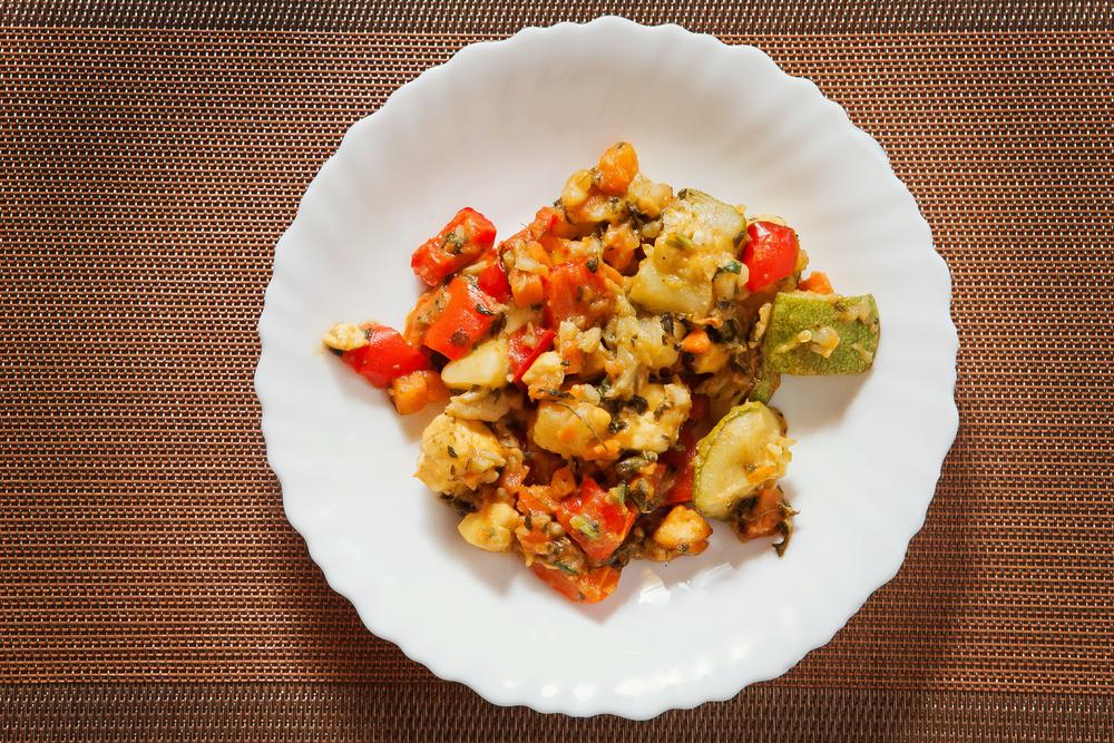 САБДЖИ  Овощное рагу с сыром