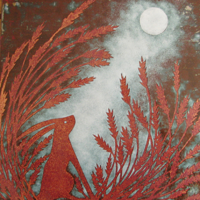 Janine Partington Moon Gazing hare.jpg