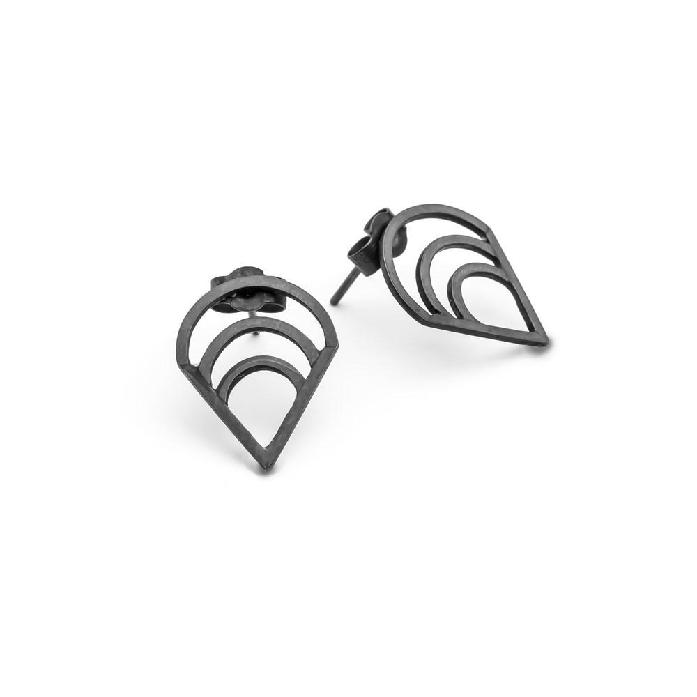 Blanche stud earrings oxidised.jpg