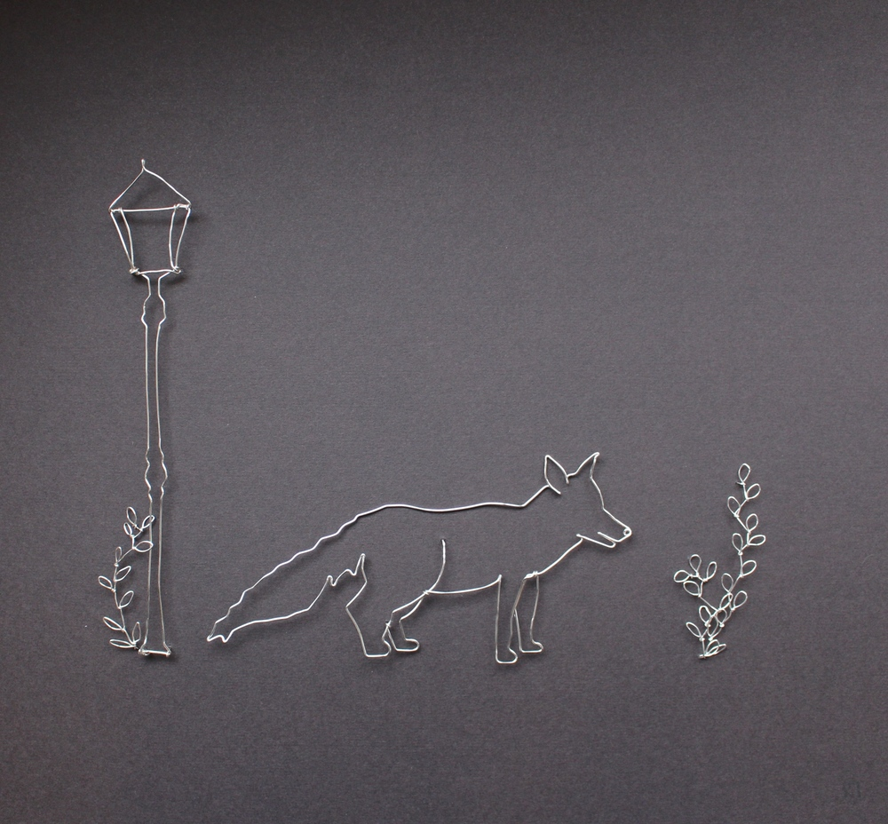 Fox  silver plated copper wire  sold