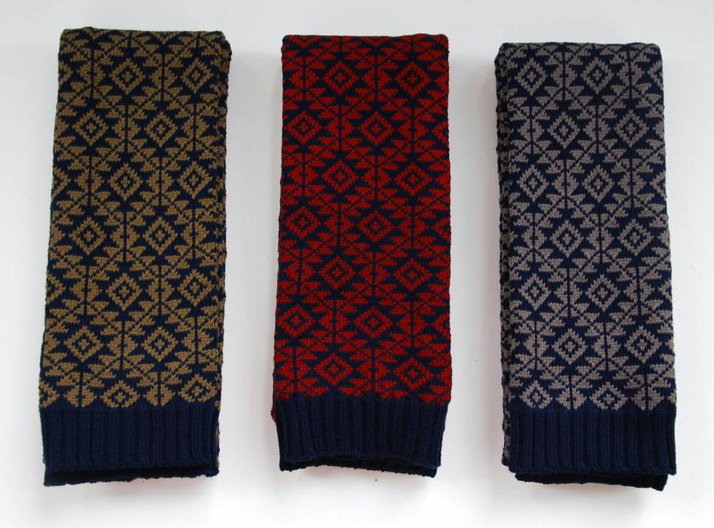 Hattie Kerrs Estonia Scarves