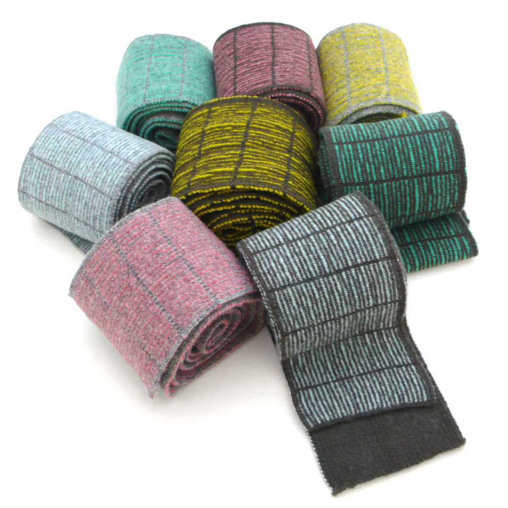 Tangent Skinny Spruce and Wide Stripe Scarf Collections