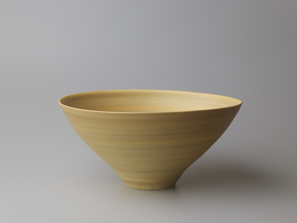 Large Deep Orange and Grey Bowl 22 x 10 cm £110
